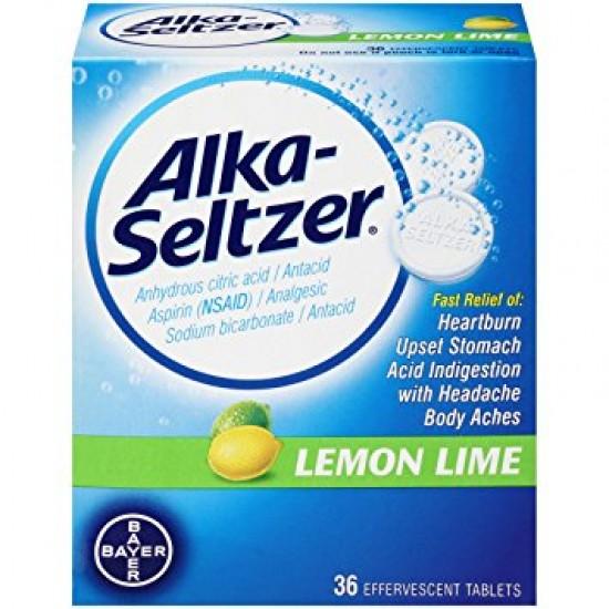 ALKA-SELTZER LEMON TAB 20