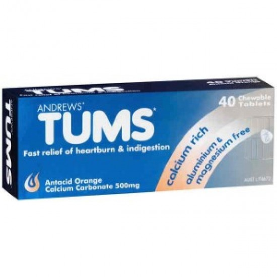 ANDREWS TUMS ORNG 20