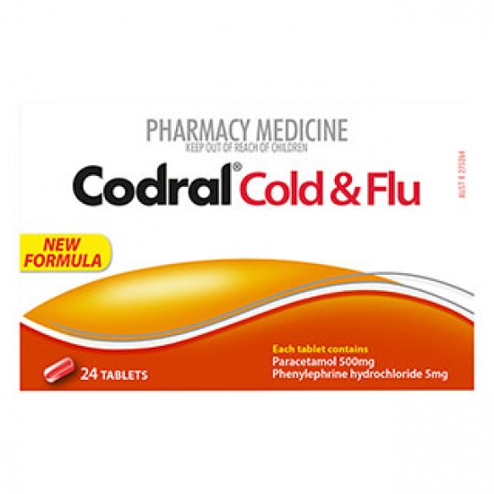 CODRAL COLD AND FLU PE TAB 24